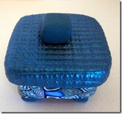 12 small blue box side view