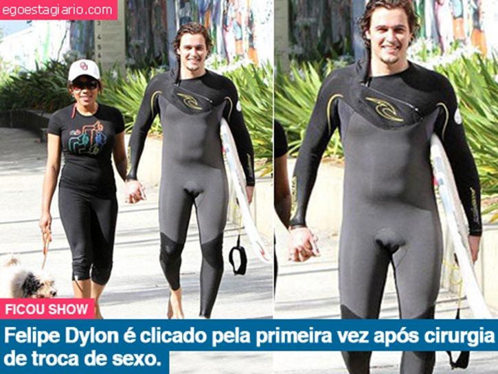 Felipe Dylon troca de sexo