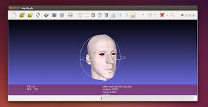 MeshLab in Ubuntu Linux
