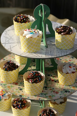Modified Martha Stewart Cupcake Stand