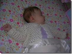 Tessie sleeping 8-16