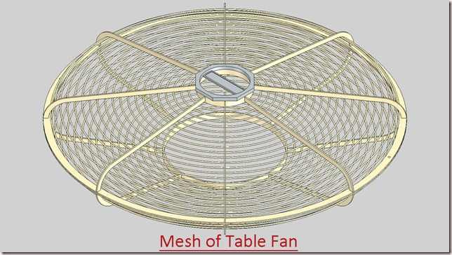 Mesh of Table Fan_1