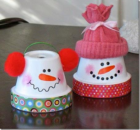 manualidades navidad con macetas (6)