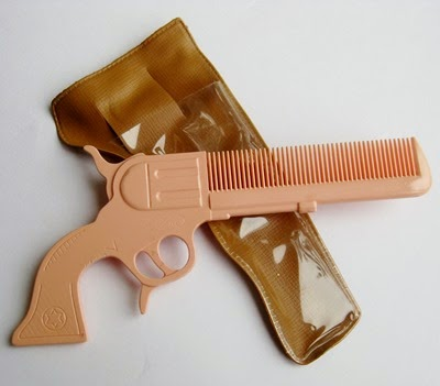 pink gun comb