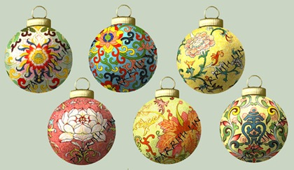 Chinese christmas ball images for craft projects
