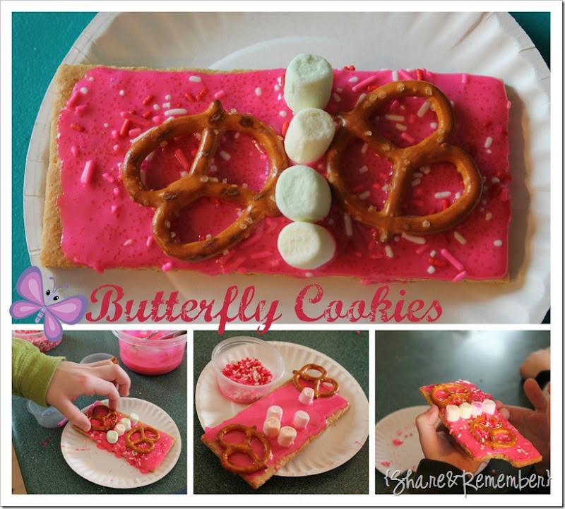 Butterfly Cookies for Preschool