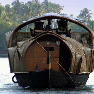 2 Night Superior Kerala Houseboat Cruise from Alumkadavu to Alappuzha -1 Bedroom