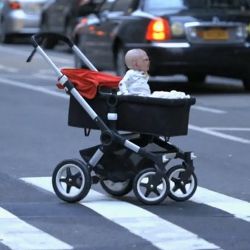 Cuidado con el bebé diabólico
