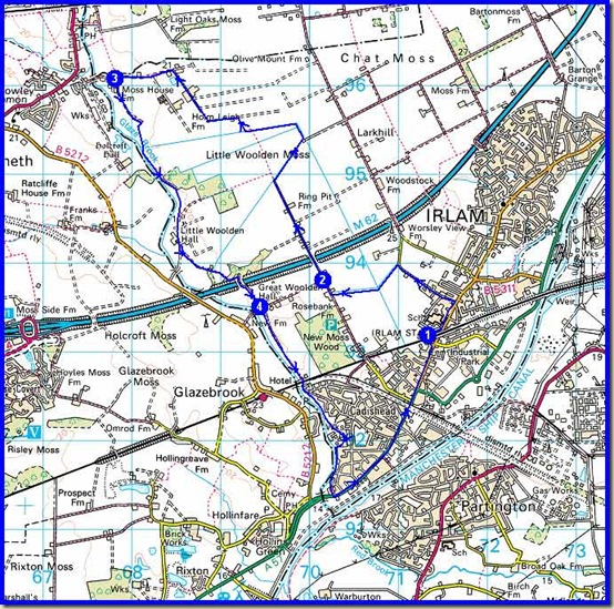 The Salford Trail (Part 4) - 15 km, 60 metres ascent, 4 hours