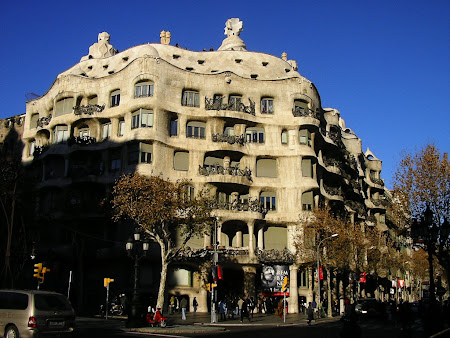 Things to do in Barcelona: visit Gaudi's Milla House