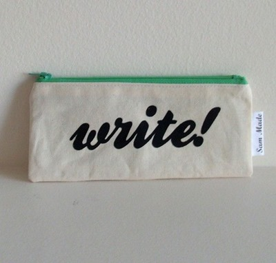 pencil case write