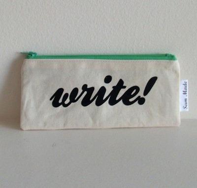pencil case write