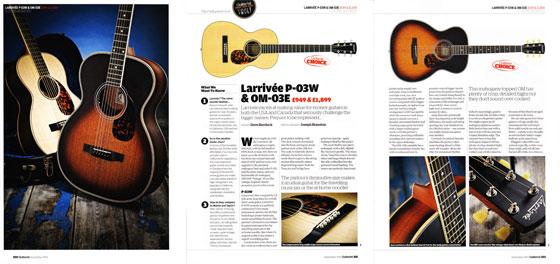 Larrivee 03 walnut vintage 560