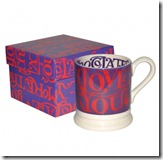 Emma Bridgewater I Love You More Than Chocolate Mug