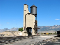 Coal Water Tower Northern Nevada RR