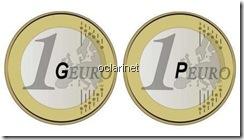 GEURO Nova moeda PEURO logo a seguir. Mai 2012