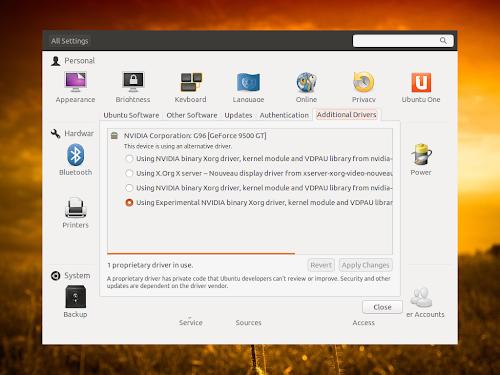 Ubuntu 12.10 Quantal e il problema con i driver Nvidia, ecco come risolverlo