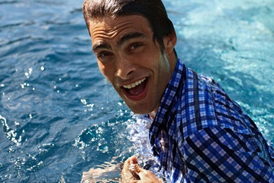 Jon Kortajarena by Morten Bjarnhof for Brueninger, Summer 2011
