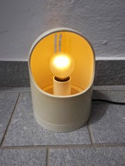 white lamp front
