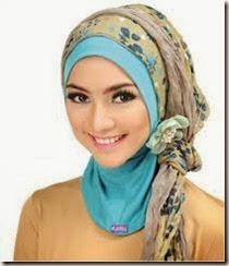 tips memadukan warna jilbab
