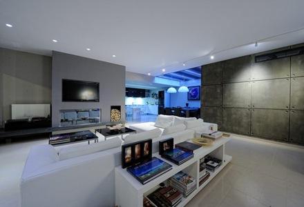 Departamento con estilo minimalista que incorpora for Iluminacion minimalista interiores