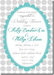 phillip and kelly shower invite