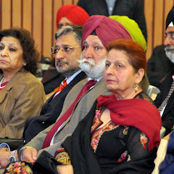 Sikh Heritage Society representatives
