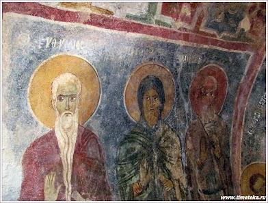 Фрески церкви Николая Чудотворца Мирликийского. Демре. Турция.
