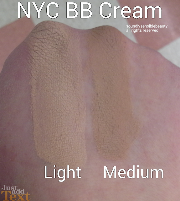 Light, Medium NYC BB Cream