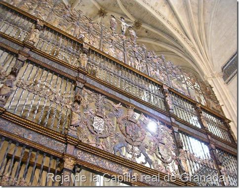 Reja de la Capilla real de Granada