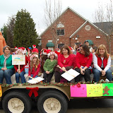 WBFJ - Lewisville Christmas Parade - 12-9-12