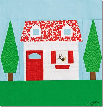 Quiltmaker 100 Blocks Volume 10 Little Cottage by Kristy Lea