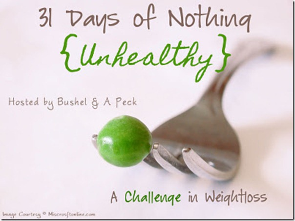 31 Days of Nothing %7BUnhealthy%7D