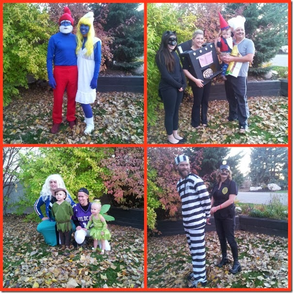 Collage halloween