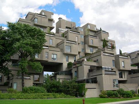 34. Habitat 67 (Montreal, Canadá)