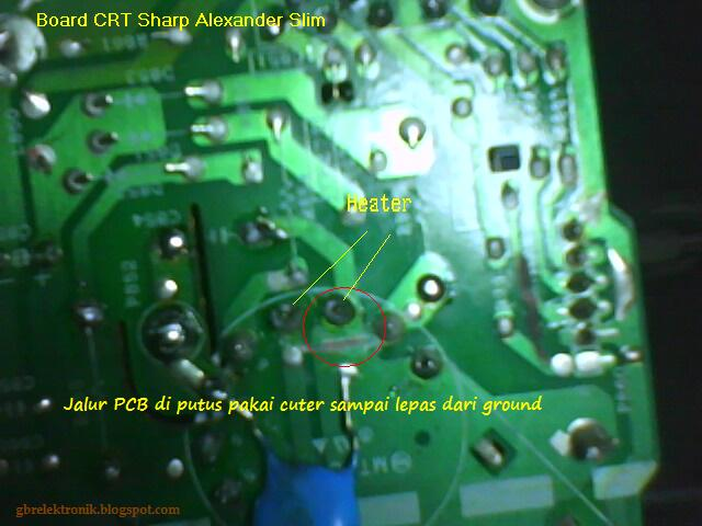 board CRT Sharp Alexander Slim