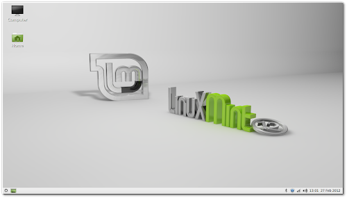 Linux Mint 12 LXDE RC