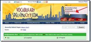 SpellingCityassignments4