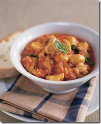 Mushroom, Tomato and Basil Ragout