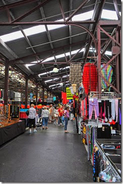 "The Queen Victoria Market (also known as the Queen Vic Markets or the Queen Vic, and locally as '""Vic Market""') is a major landmark in Melbourne, Australia, and at around seven hectares (17 acres) is the largest open air market in the Southern Hemisphere"
