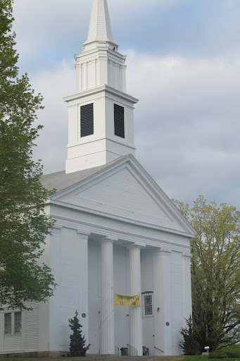 Nothing says New England like a pristine white church steeple.