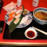 sushi at narita in Narita, Tokyo, Japan