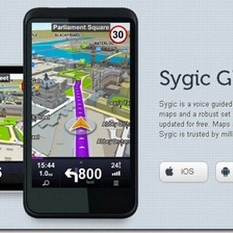 Sygic GPS Navigation For Samsung Galaxy Note | Goodbye Papago X5
