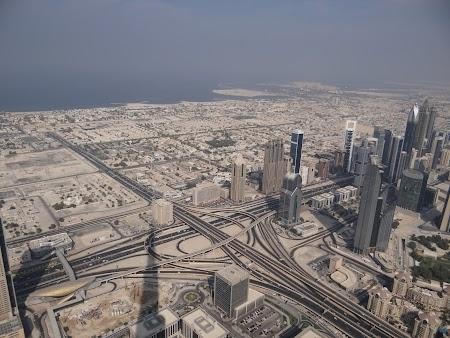 Dubai din Burj Khalifa