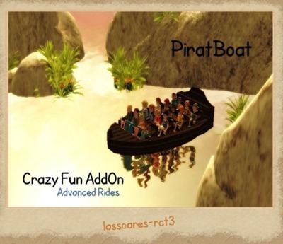 CTR PiratBoat Crazy Fun AddOn (Advanced Rides) lassoares-rct3
