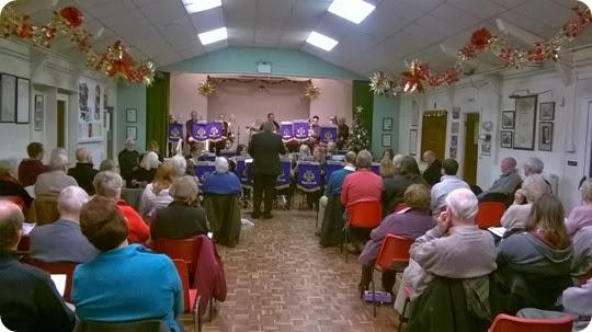 Crewe Concert Band - Christmas Carol concert