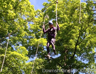 Ontario Pioneer Camp  Adventure Camp_High Ropes_OPC_#PioneerCamp_@DownshiftingPRO