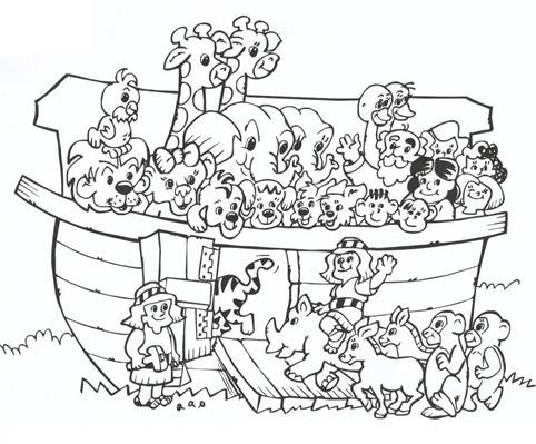 arca-de-noe-desenhos-para-colorir
