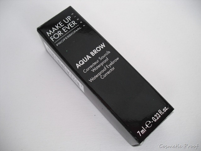 Review Make Up For Ever Aqua Brow In Shade 20 Cosmetic Proof