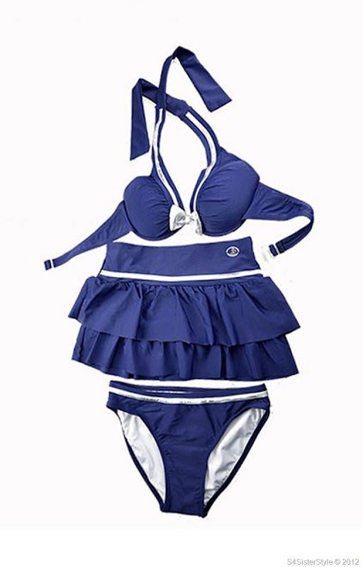 silver-bow-knot-skirt-style-bikini